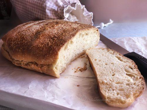 Pane con semola di grano duro a lunga lievitazione