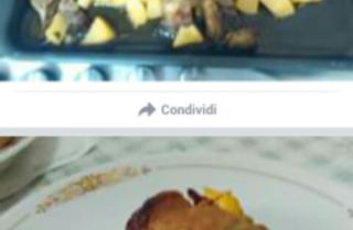 involtini con ripieno di friarielli e salsiccia sbriciolata al forno con contorno di patate e carciofi