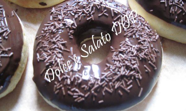 Donuts senza stampo