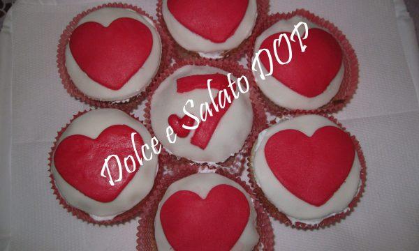 Cupcake per l'anniversario