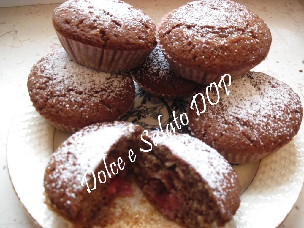 muffin golosi alle fragole