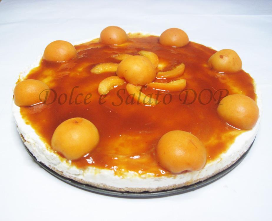 cheesecake all'albicocca copia
