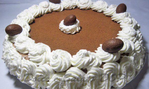 Bavarese al cioccolato fondente