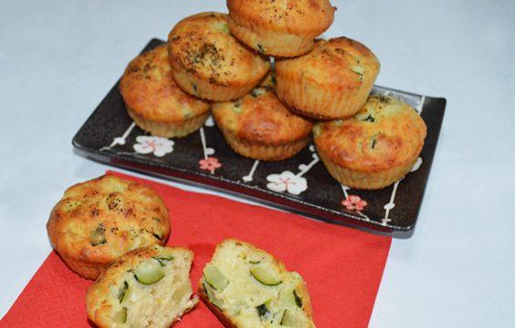 Muffin morbidi alle zucchine