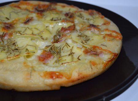 Pizza con impasto di Bonci