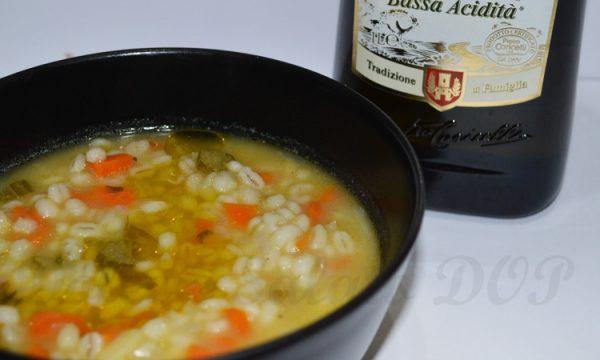 Zuppa d'orzo, ricetta invernale
