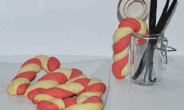 Candy cane cookies, ricetta natalizia