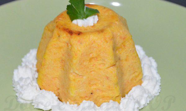 Sformatino di carote, ricetta semplice