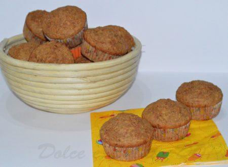 Muffin mele e cannella, ricetta golosa