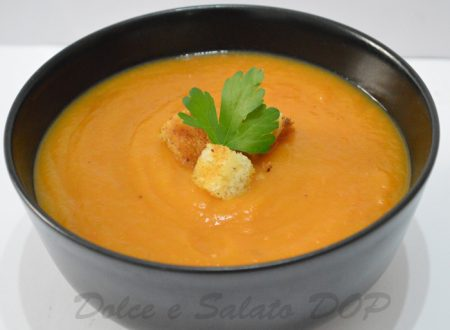 Vellutata di carote e zenzero, ricetta light