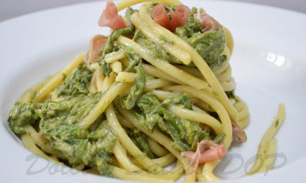 Bucatini asparagi e culatello, ricetta golosa