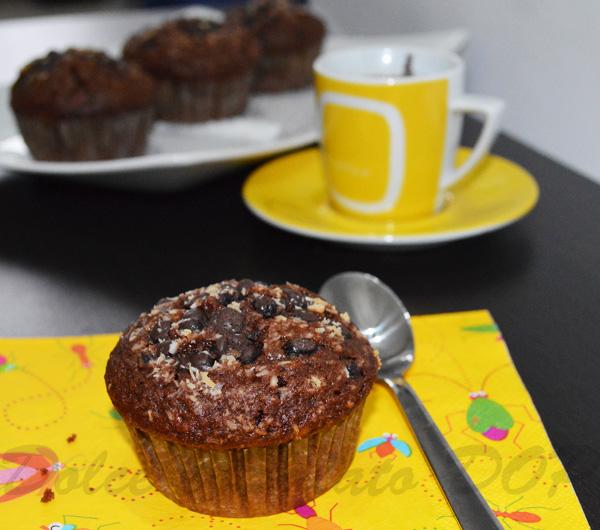 muffin cioccolato e cocco1