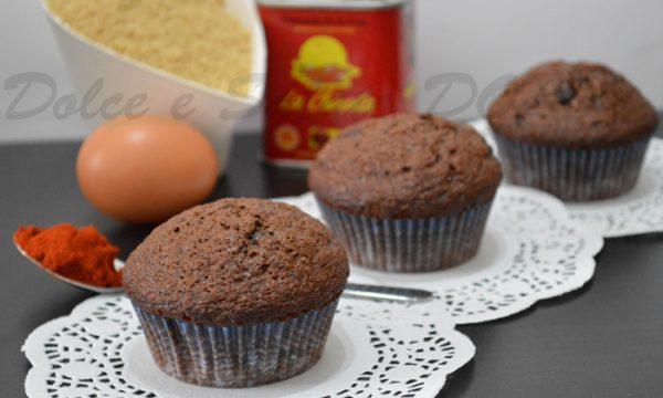 Muffin speziati al cioccolato, ricetta golosa