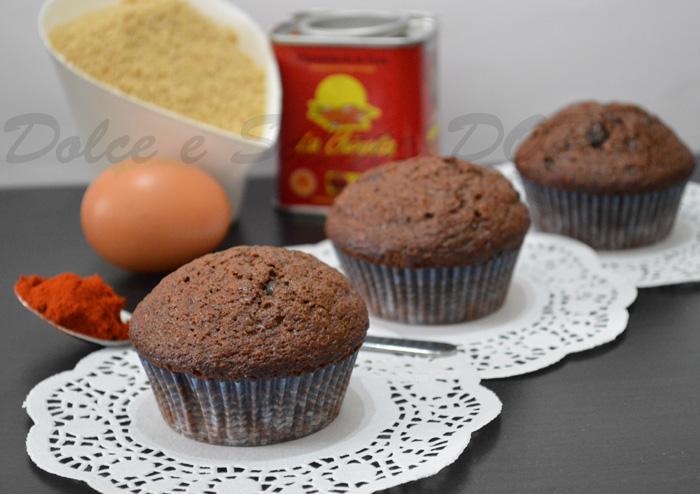 muffin speziati al cioccolato