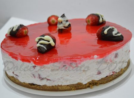 Cheesecake alle fragole, buon compleanno BLOG!