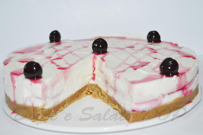 cheesecake cioccolato bianco e amarene2