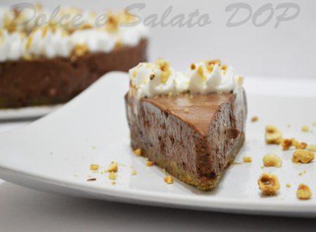 Chiffon cheesecake, ricetta al cioccolato