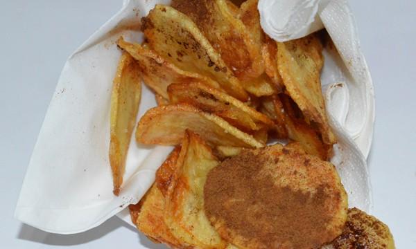 Chips alla liquirizia, ricetta sfiziosa