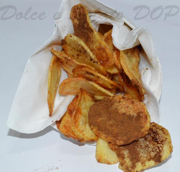 chips alla liquirizia