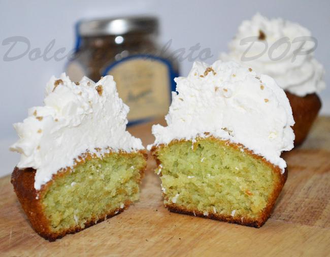 cupcake menta e cocco