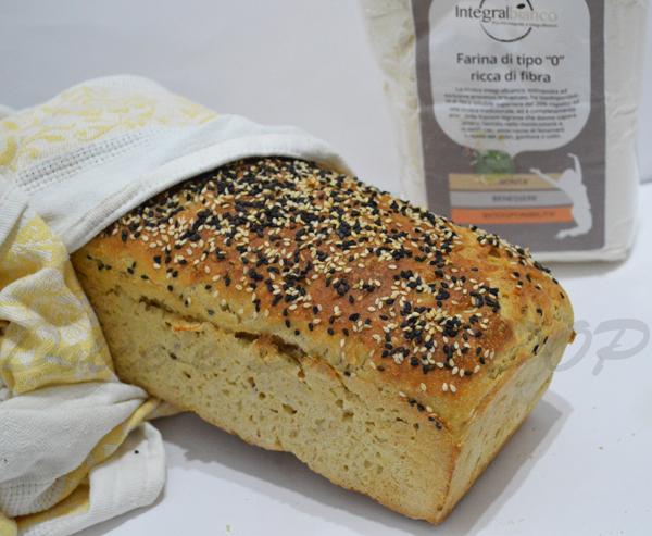 pane bianco semi integrale