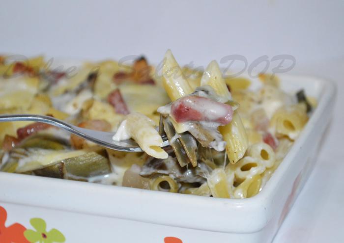 pasta al forno con carciofi2