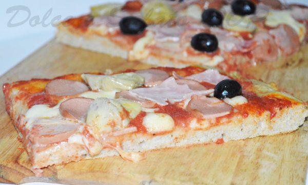 Pizza integrale, ricetta golosa