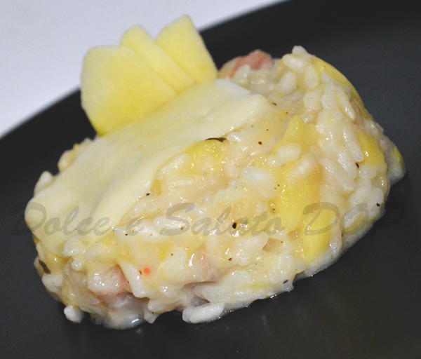 risotto alle mele renette