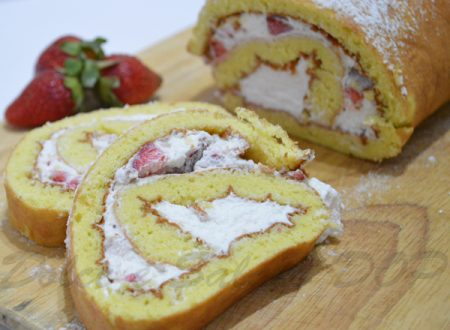 Rotolo panna e fragole, ricetta golosa