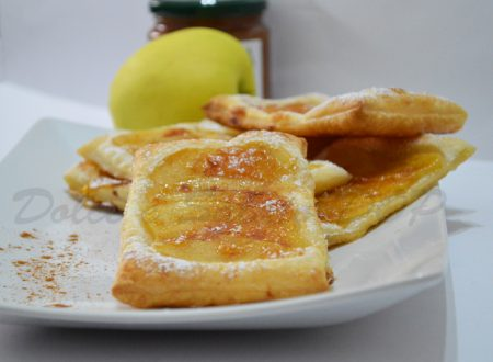 Sfogliatine mele e cannella, ricetta facile e veloce