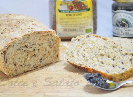 Pane ai cereali con semi di lino