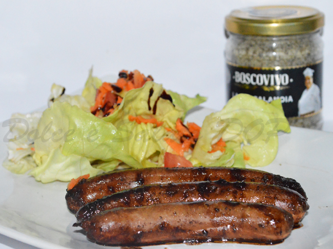salsiccia all'aceto balsamico