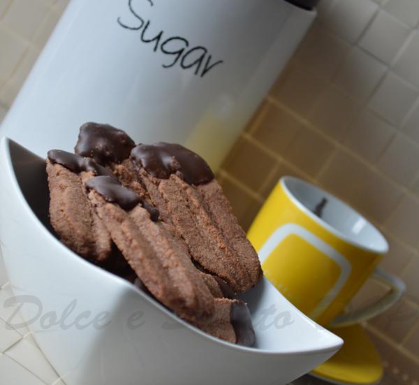 frollini viennesi al cioccolato