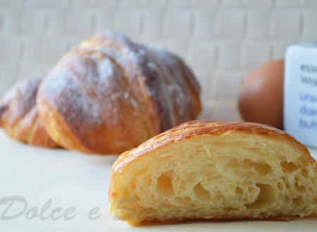 Croissant sfogliati, ricetta di Luca Montersino