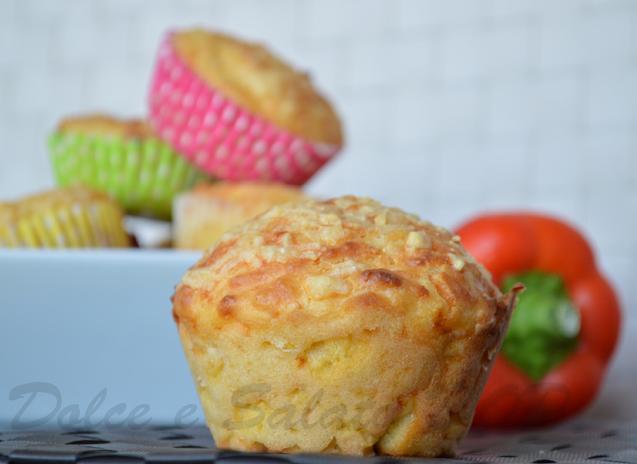 Muffin ai peperoni e mais
