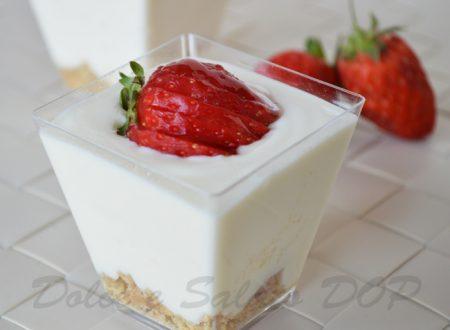 Dessert allo yogurt, ricetta light
