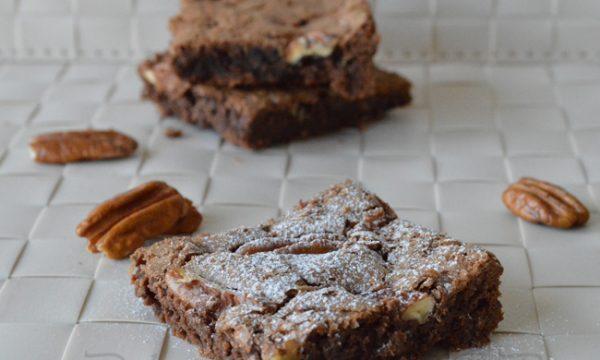 Brownie cioccolato e noci pecan