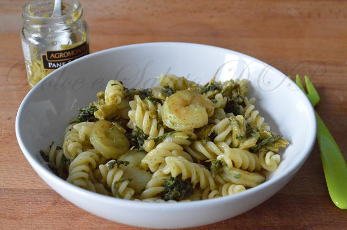 Fusilli gamberetti e asparagi