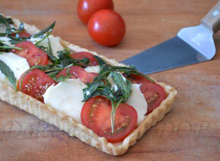 Torta caprese salata, ricetta facile