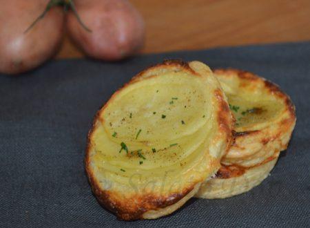 Sfogliatine di patate, ricetta aperitivo