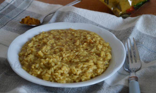 Risotto al curry, ricetta veloce