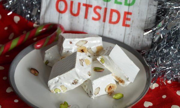 Torrone morbido, ricetta natalizia