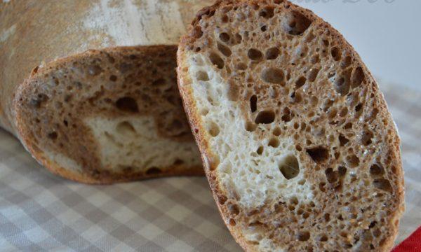 Pane bicolore, ricetta con lievito madre