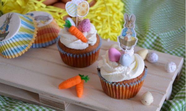 Cupcake alla carota, ricetta di pasqua