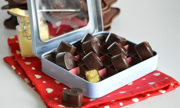Cioccolatini al passion fruit, ricetta di san Valentino