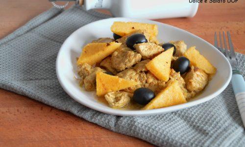 Pollo con polenta, ricetta dl riciclo