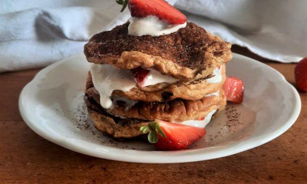 Pancake proteici, ricetta light