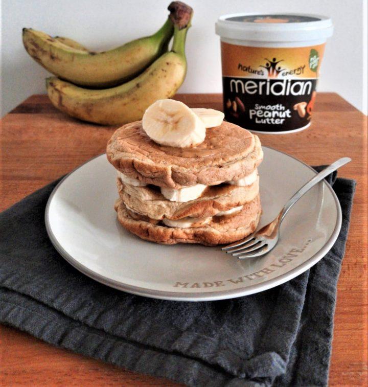 Pancake Banana e Burro di Arachidi