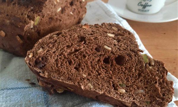 Pane al cioccolato, ricetta con lievito di birra
