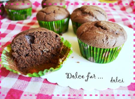 Muffin al cioccolato senza burro